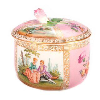 Meissen Powder Box