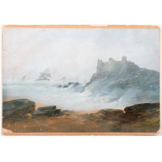 19th century watercolor.