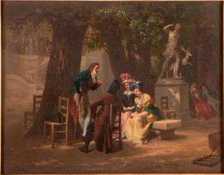 Prudent louis Leray (1820 - 1879).