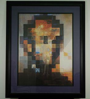 """Salvador Dali """"Lincoln in Dalivision"""" Lithograph"""