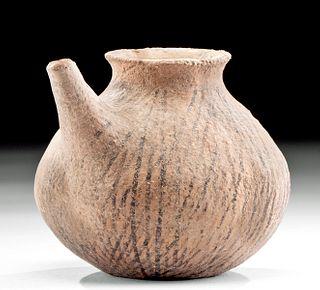 Bronze Age Near Eastern Pottery Baby Feeder