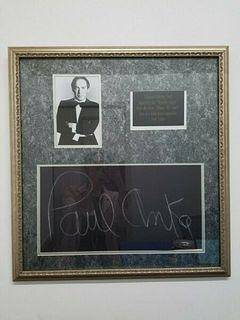 "JACK PALANCE ""What's My Line?"" Signed Slate, C. 1967 - $10K Appraisal Value!"