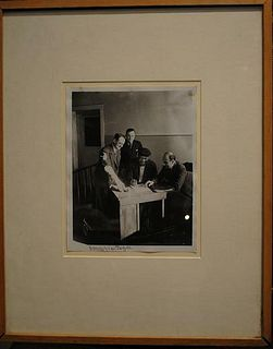 JACK JOHNSON Legendary Heavyweight Boxer Photographed & Signed By Artist James Van Der Zee, C. 1933 - $30K Appraisal Value!