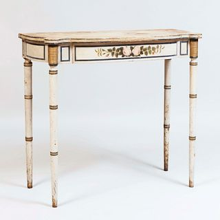 Federal Painted Console Table