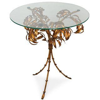 Italian Tole Side Table