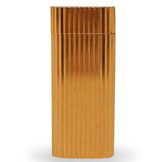 """Cartier """"Must De"""" Gold Plated Lighter"""