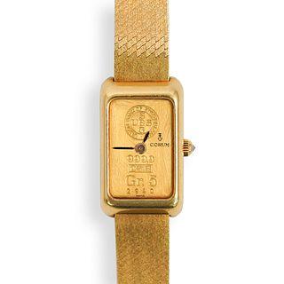 Corum 18k Gold Ingot Watch