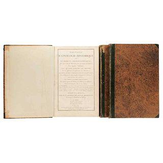 Delafosse, Jean Charles. Nouvelle Iconologie Historique ou Attrbuts Hierogliphyques... les quatre Éléments. Paris: 1771. Pieces: 3.