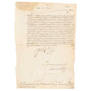 I, the King (Philip II). Al Arzobispo de México sobre la Publicación del Breve del Jubileo que se ha Concedido a Todas las Indias. 1576.