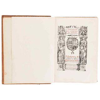 Association of Bookeepers of Mexico. IV Cnetenary of Printing in Mexico. Conferencias Sustentadas en su Conmemoración. México: 1939.