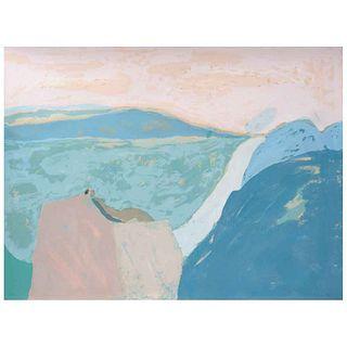 "JOY LAVILLE, Untitled, Signed, Serigraph 68 / 100, 23.6 x 31.4"" (60 x 80 cm)"