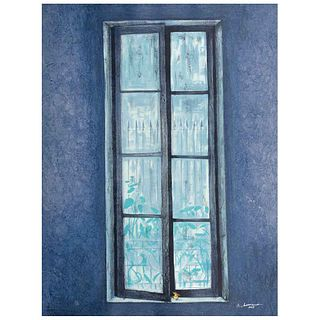"""JUAN SORIANO, Untitled, from the series Ventanas, Signed and dated 2005, Screenprint  P / A, 31 x 23.2"""" (79 x 59 cm)"""