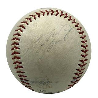Single Signed Roberto Clemente Baseball Autographe