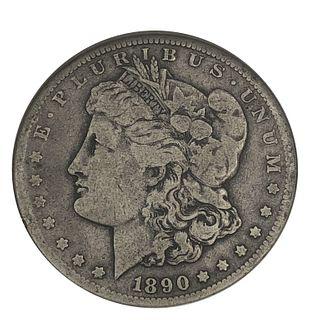 1890-CC Morgan Silver Dollar Carson City Dollar Co