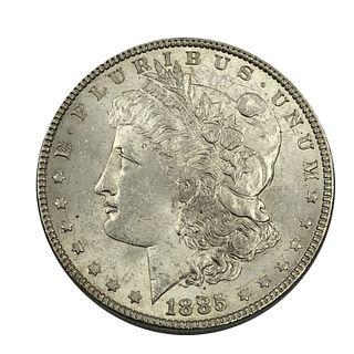1885 Morgan Silver Dollar Coin