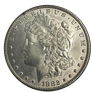 1882 Morgan Morgan Silver Dollar
