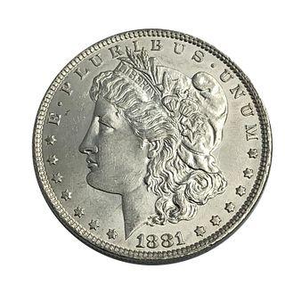 1881-O Morgan Silver Dollar Coin