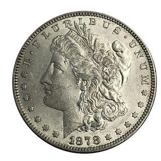 1878 7TF Morgan Silver Dollar Coin