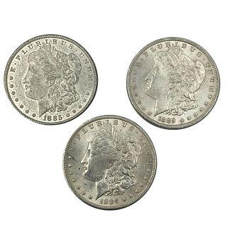 Morgan Silver Dollar Lot 1884-O 1885 1889 Dollar C