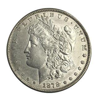 1878 Morgan Silver Dollar Coin