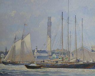 Guy Peron (GERMAN, b. 1931) Oil on Board