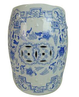 20th Century Chinese Porcelain Garden Seat