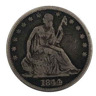 1847 Coronet Large Cent Coin