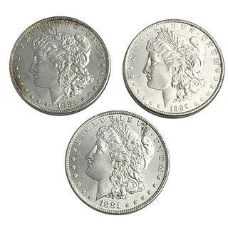 1881-O 1889 Morgan Silver Dollar Coin