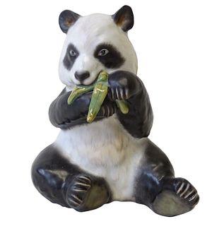 Herend Porcelain Panda Bear Figurine
