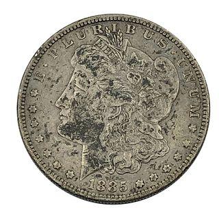 1885-S Key Date Morgan Silver Dollar Coin