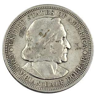 1893 Columbia Expedition Half Dollar Coin