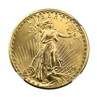 1928 St. Gaudens $20 Double Eagle Gold Coin