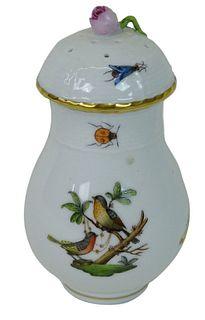 Herend Rothschild Bird Porcelain Shaker