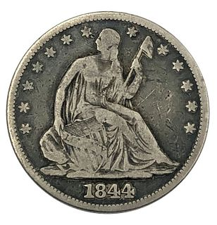 1844 Seated Liberty Half Dollar