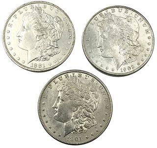 New Orleans Mint Morgan Silver Dollar Lot 1881-O 1