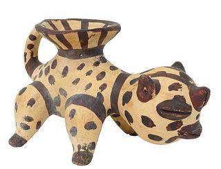 Pablo Picasso Style Ceramic Figure