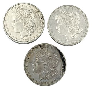 1878 1881-O 1900 Morgan Silver Dollar Coin Lot