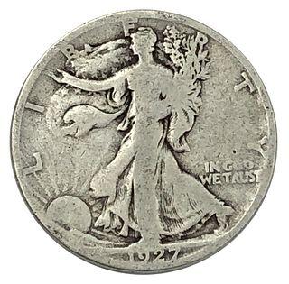 1927-S Half Dollar Coin