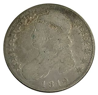 1819 Bust Half Dollar Coin
