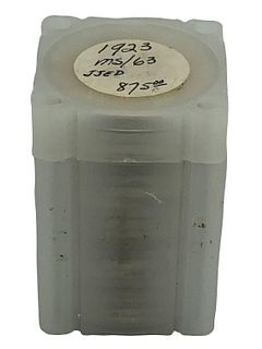 Roll of Uncirculated 1923 Peace Dollars