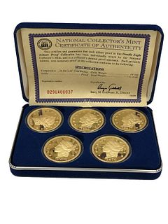 Double Eagle Tribute Proof Collection National Col