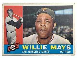 Willie Mays 1960 Topps #200 Baseball Card