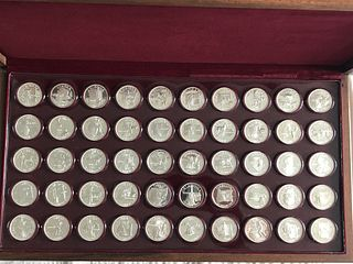 Governor's Edition Franklin Mint States of the Uni