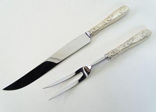 Two (2) Tiffany & Co. Audubon Silver Serving Pcs