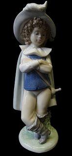 NAO by Lladro Daisa The Good Swordsman Porcelain