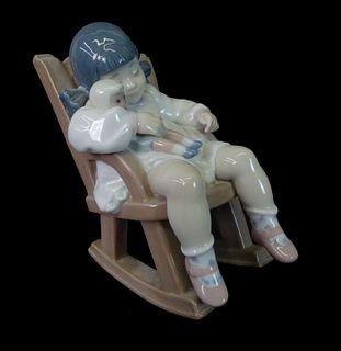 Lladro #5440 Naptime Porcelain