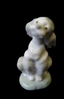 Lladro #7685 a Friend for Life Dog Porcelain
