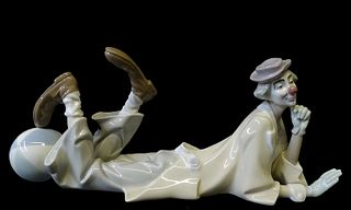 Lladro #1353 Lady with Girl Porcelain