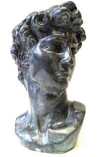 Bronze Bust of David