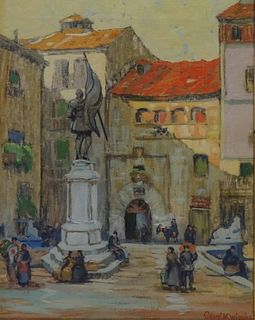 Sidney Miller Wiggins (AMERICAN, 1881–1940) Spain